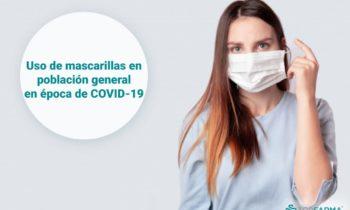 ¿Cómo es el uso de mascarillas en la población general en época de COVID-19?